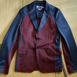 コムデギャルソン(COMME des GARCONS)のジュンヤワタナベマン ジャージ切替ジャケット(テーラードジャケット)