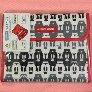 ディズニー(Disney)のマルチケース☆ミッキー☆フェイス☆ジャバラ式☆ディズニー⑦(母子手帳ケース)