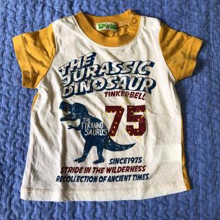 ティンカーベル(TINKERBELL)のTシャツ 恐竜 マスタード 80(Tシャツ)