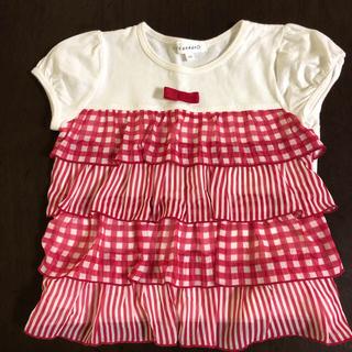 サンカンシオン(3can4on)の子ども服 半袖 3can4on 100㎝(Tシャツ/カットソー)
