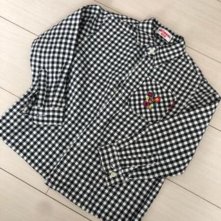 ミキハウス(mikihouse)のミキハウス チェックシャツ(ジャケット/上着)