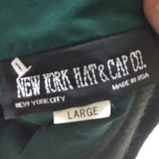 ニューヨークハット(NEW YORK HAT)のニューヨークハット モスグリーン アメリカ製 アメカジ(ハット)