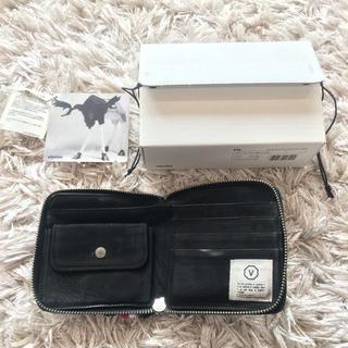 ヴィスヴィム(VISVIM)のvisvim 財布 黒 FW06-07 ビズビム  (折り財布)