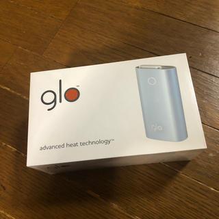 グロー(glo)のglo 本体 韓国 免税店購入 ミストブルー 新品 グロー(タバコグッズ)