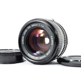 キヤノン(Canon)の★人気オールドレンズ★キャノン CANON NEW FD 50mm F1.4(レンズ(単焦点))