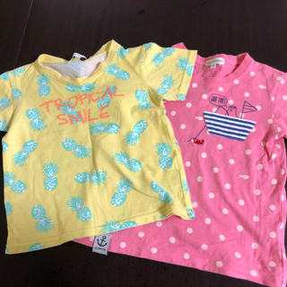 サンカンシオン(3can4on)の子ども服 半袖 3can4on 110㎝(Tシャツ/カットソー)