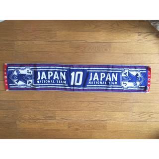 新品 タオルマフラー サッカー日本代表(応援グッズ)