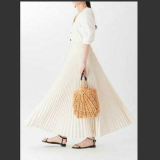 ツルバイマリコオイカワ(TSURU by Mariko Oikawa)のTHURUbyMARIKOOIKAWA ツルバイ スカート2019ss(ロングスカート)