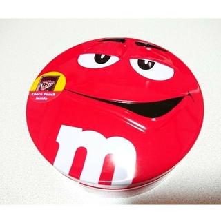 エムアンドエムアンドエムズ(m&m&m's)の【エムアンドエムズ】チョコレート缶 レッド1点(キャラクターグッズ)