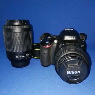 Nikon - NikonD5100 18-55VRレンズキット ☆望遠レンズ55-200mm付