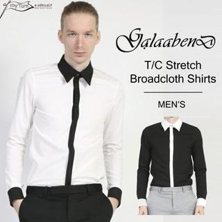 ガラアーベント(GalaabenD)の【GalaabenD】T/Cストレッチブロードシャツ(シャツ)