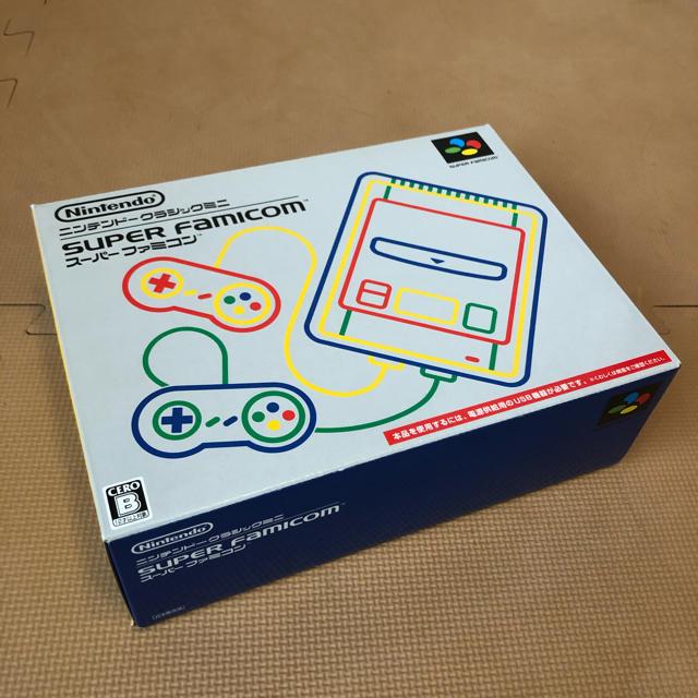 ニンテンドークラシックミニ スーパーファミコン エンタメ/ホビーのゲームソフト/ゲーム機本体(家庭用ゲーム機本体)の商品写真