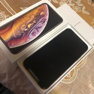 iPhone -  新品 未使用 SIMフリー iPhone Xs 64GB ゴールド