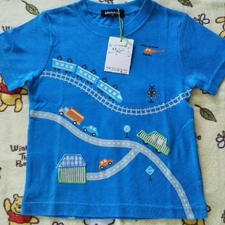 kladskap - のりもの柄Tシャツ 100