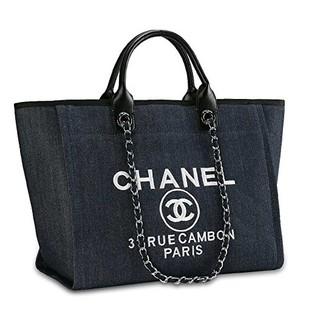 CHANEL - CHANELココマーク美品 キャンバス  ショルダーバッグ トートバッグ 大容量
