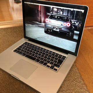 Apple - MacBook pro 15インチ