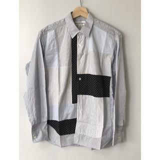 コムデギャルソン(COMME des GARCONS)の【H】希少フランス製◆コムデギャルソン シャツ パッチワークシャツ XS(シャツ)