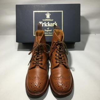 トリッカーズ(Trickers)の良品! Tricker's トリッカーズ  カントリーブーツ UK5(ローファー/革靴)