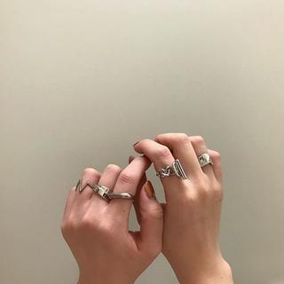 エテ(ete)の【新品☆未使用品】チェーン シルバーリング(リング(指輪))
