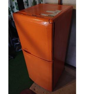 ミツビシ(三菱)の2ドア冷蔵庫 MR-14J 引き取り限定(冷蔵庫)