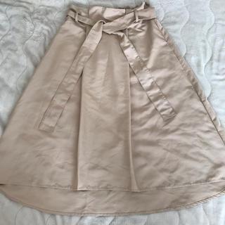 インデックス(INDEX)のフレアスカート(ひざ丈スカート)