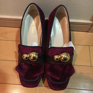 リリーブラウン(Lily Brown)のリリーブラウン 厚底ローファー (ローファー/革靴)