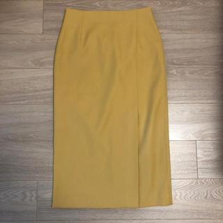 エリオポール(heliopole)の♡HELIOPOLE  イエロータイトスカート♡(ロングスカート)