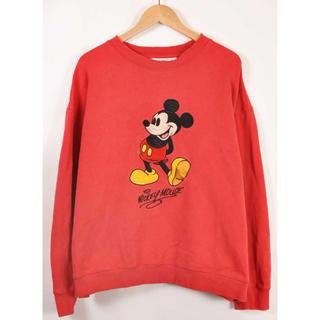 ディズニー(Disney)の90sミッキーマウス スウェット(トレーナー/スウェット)