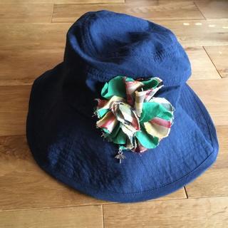 アーノルドパーマー(Arnold Palmer)のアーノルドパーマー 帽子 コサージュ付き(ハット)