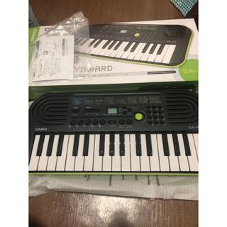 カシオ(CASIO)のCASIO(カシオ) 32ミニ鍵盤 電子キーボード SA-46 (キーボード/シンセサイザー)