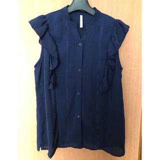 しまむら - hk works london フリルシャツ ブラウス