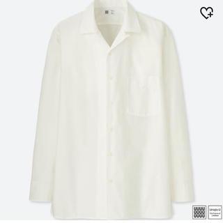 ユニクロ(UNIQLO)のUNIQLO オープンカラーシャツ 長袖(シャツ)
