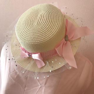ナイルパーチ(NILE PERCH)のナイルパーチ カンカン帽(麦わら帽子/ストローハット)