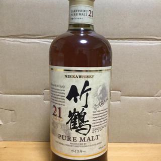 ニッカウイスキー(ニッカウヰスキー)の竹鶴21年 12本 新品未開栓(ウイスキー)