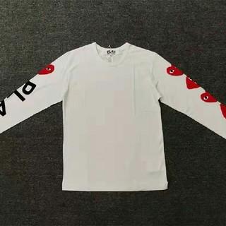 コムデギャルソン(COMME des GARCONS)のPLAY CDG 長袖Tシャツ トレーナー(シャツ/ブラウス(半袖/袖なし))