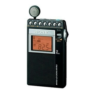 ソニー(SONY)のソニー SONY FM/AM PLLシンセサイザーラジオ ICF-R354M(ラジオ)