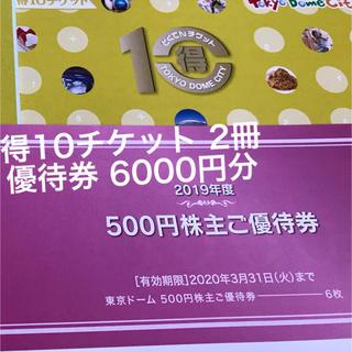 東京ドーム 株主優待券