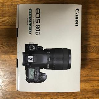 Canon - Canonデジタル一眼レフカメラEOS80DレンズキットEFS18-135mm