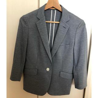 オリヒカ(ORIHICA)のORIHICA 春夏物ジャケット ブルーグレー 美品(テーラードジャケット)
