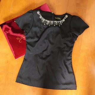エミリアウィズ(EmiriaWiz)のEmiriawiz ビジュートップス Rady eimy rienda ダチュラ(Tシャツ(半袖/袖なし))
