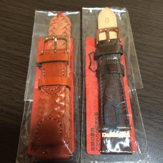 ノット(KNOT)の新品未使用 knot ベルト ストラップ 2本セット(腕時計)