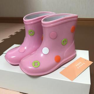 ハッカベビー(hakka baby)の専用☆ハッカベビー 長靴 14㎝(長靴/レインシューズ)