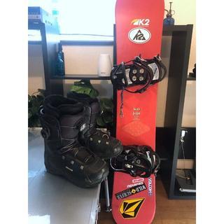 ケーツー(K2)の【シーズン値下げ】K2 ケーツー / スノーボードセット.(ボード)