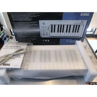 コルグ(KORG)の【新品未使用】KORG K25 USB MIDIキーボード.コントローラ.(MIDIコントローラー)