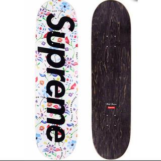 Supreme - Supreme Airbrushed Floral Skateboard