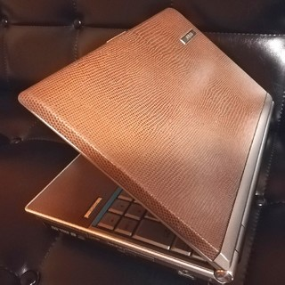 エイスース(ASUS)のランボルギーニ!本革ブラウンのASUS S6F-3086P DVD office(ノートPC)