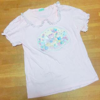 ナイルパーチ(NILE PERCH)のナイルパーチ パフスリーブTシャツ(Tシャツ(半袖/袖なし))
