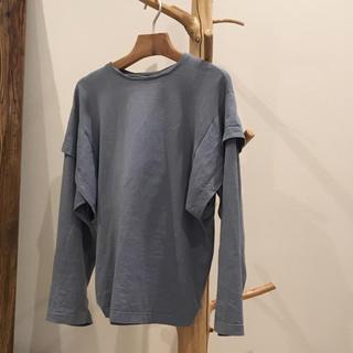 ジョンリンクス(jonnlynx)のダブルスリーブシャツ フミカウチダ fumikauchida(カットソー(長袖/七分))