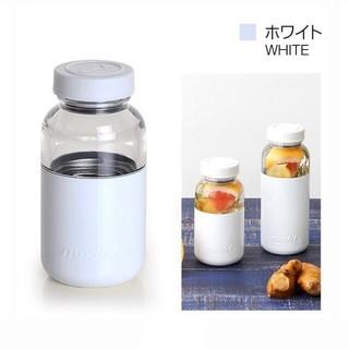 ドウシシャ(ドウシシャ)の新品タグ付き mosh ボトルカプセル 350ml ホワイト(タンブラー)
