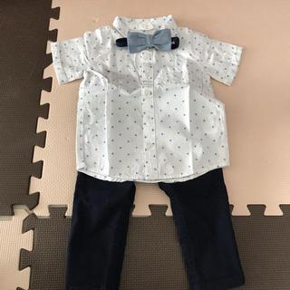 H&M - H&M シャツ&ネクタイ&パンツ 3点セット